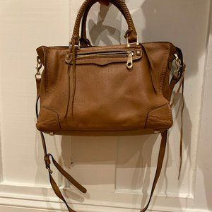 Rebecca Minkoff large regan leather satchel